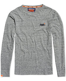 Superdry Men's Orange Label Embroidered Logo T-Shirt