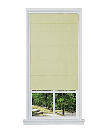 "Cordless Faux Silk Fabric Roller Shade, 27""x 64"""