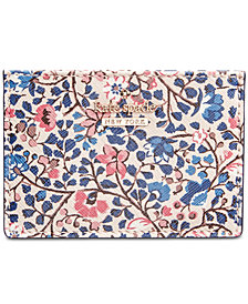 kate spade new york Cameron Street Ditsy Vine Card Holder
