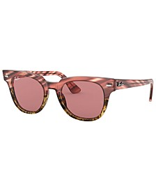 Sunglasses, RB2168 METEOR STRIPED HAVANA