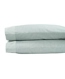 Striated Band King Pillowcase Set