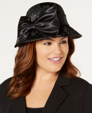 1920s Hat Styles for Women- History Beyond the Cloche Hat August Hats Formal Lace Cloche $72.00 AT vintagedancer.com