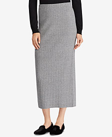 Lauren Ralph Lauren High-Waist Knit Skirt