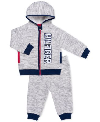 Tommy Hilfiger Boys Toddler 2 Pieces Hooded Pants Set