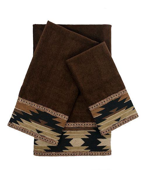 Sherry Kline Phoenix 3-piece Embellished Towel Set