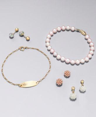 e074e1463 Finders | Children's Multi-Crystal Ball Stud Reversible Earrings in ...