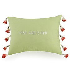 Jessica Simpson Watercolor Garden Decorative Pillow