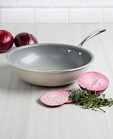 """11"""" Titanium Ceramic Coated Wok, Created for Macy's"""