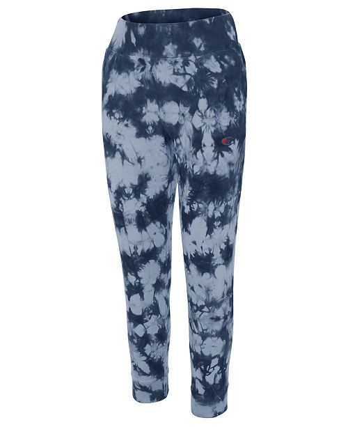 2e555403f128 Champion Tie-Dyed Sweatpants   Reviews - Pants   Capris - Women - Macy s