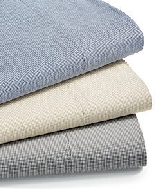 Charter Club Sleep Soft Cotton 200 Thread Count Yarn Dyed Sheet Set Collection, Created for Macy's
