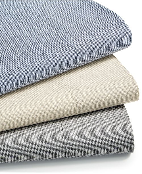 Charter Club CLOSEOUT! Sleep Soft Cotton 200 Thread Count Yarn Dyed Sheet Set Collection, Created for Macy's