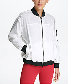 DKNY Sport Light Bomber Rain Jacket