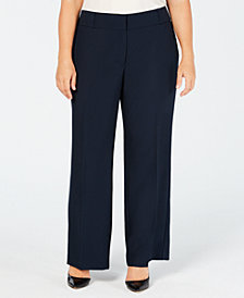 Alfani Plus & Petite Plus Size Curvy Bootcut Pants, Created for Macy's
