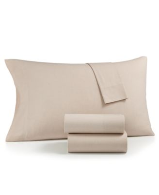 CLOSEOUT! Sleep Soft Cotton 200 Thread Count Yarn Dyed Standard Pillowcase Pair, Created for Macy's