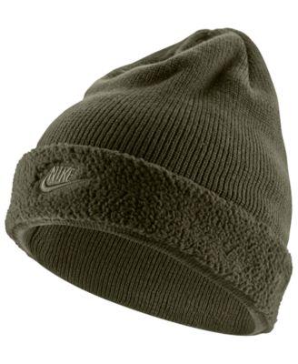 809e3b5fe8d07 Nike Men s Sportswear Fleece-Cuff Beanie   Reviews - Hats