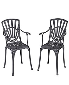 Largo Dining Chair Pair with Cushions