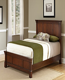 Newport Queen Bed, Night Stand, Door Chest, with Dresser and Mirror