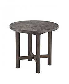 Home Styles Concrete Chic Round Dining Table