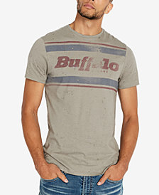 Buffalo David Bitton Men's Splattered Graphic T-Shirt