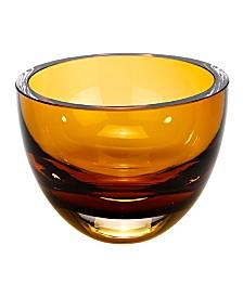Badash Crystal Penelope Amber Bowl
