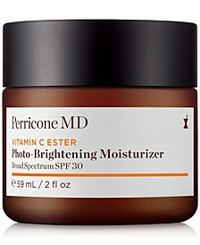 Vitamin C Ester Photo-Brightening Moisturizer Broad Spectrum SPF 30, 2 fl. oz.