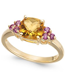 Multi-Gemstone (1-7/8 ct. t.w.) Ring in 14k Gold