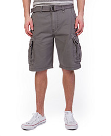 Unionbay Men's Big and Tall Belted Survivor Cargo Short
