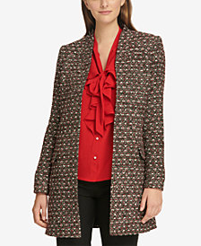 Calvin Klein Tweed Topper Jacket