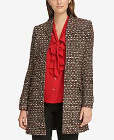 Calvin Klein Tweed Topper Jacket