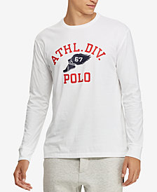 Polo Ralph Lauren Men's Graphic Cotton Long-Sleeve T-Shirt