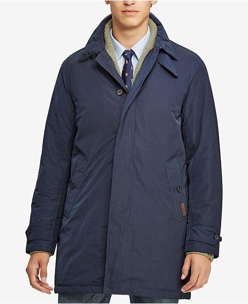 5afdc357fbc82 Polo Ralph Lauren Men s Water-Repellent Coat   Reviews - Coats ...