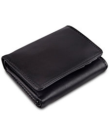 Exact Fit Men's Stretch RFID Tri-Fold Wallet