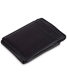 Exact Fit Men's Stretch RFID Money Clip Wallet