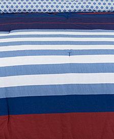 Nautical Stripe King Duvet Set
