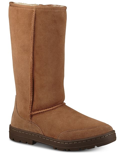 UGG® Women s Ultra Tall Revival Boots   Reviews - Boots - Shoes - Macy s 729559a64