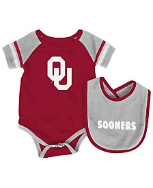 Colosseum Oklahoma Sooners Rollout Creeper and Bib Set, Infants (0-9 Months)