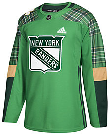 adidas Men's New York Rangers St. Patrick's Day Authentic Jersey