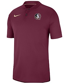 Nike Men's Florida State Seminoles Elite Coaches Polo 2018