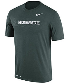 Nike Men's Michigan State Spartans Legend Staff Sideline T-Shirt