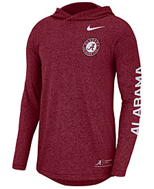 Nike Men's Alabama Crimson Tide Long Sleeve Hooded T-Shirt