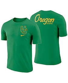 Nike Men's Oregon Ducks Dri-FIT Cotton Stadium T-Shirt