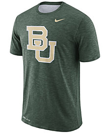 Nike Men's Baylor Bears Dri-FIT Cotton Slub T-Shirt