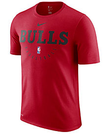 Nike Men's Chicago Bulls Practice Essential T-Shirt