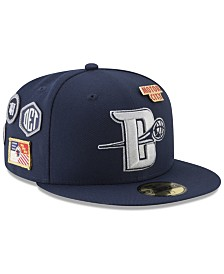 New Era Detroit Pistons City On-Court 59FIFTY FITTED Cap