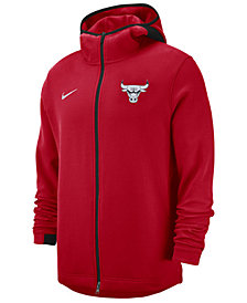 Nike Men's Chicago Bulls Dry Showtime Full-Zip Hoodie