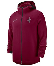 Nike Men's Cleveland Cavaliers Dry Showtime Full-Zip Hoodie