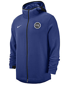 Nike Men's Detroit Pistons Dry Showtime Full-Zip Hoodie