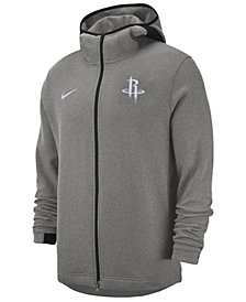 Nike Men's Houston Rockets Dry Showtime Full-Zip Hoodie