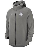 07463eb2845 Nike Men s Houston Rockets Dry Showtime Full-Zip Hoodie
