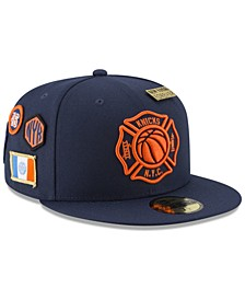 New York Knicks City On-Court 59FIFTY FITTED Cap